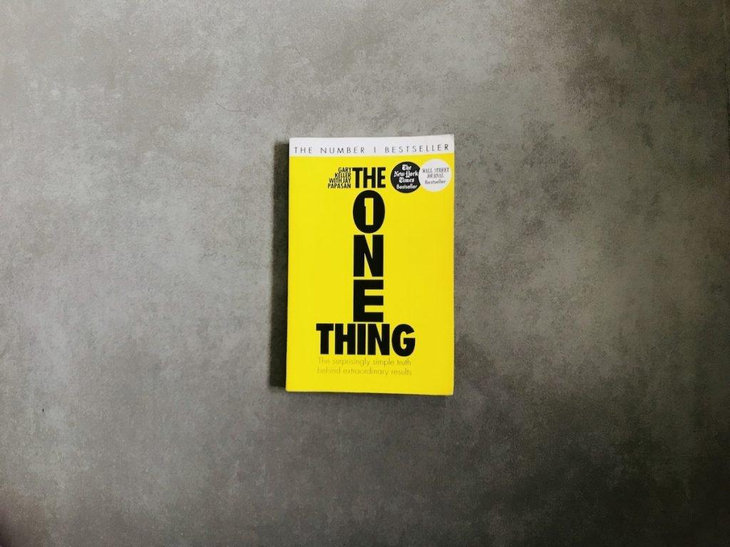 Libro recomendado: The One Thing de Gary Keller